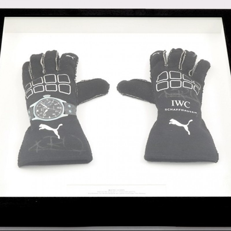 Racing Gloves Worn by Nico Rosberg