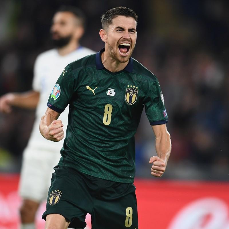 Jorginho's Match Kit, Italy-Greece 2019