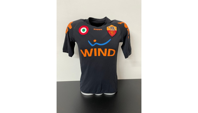De Rossi's Official Roma Signed Shirt, 2007/08