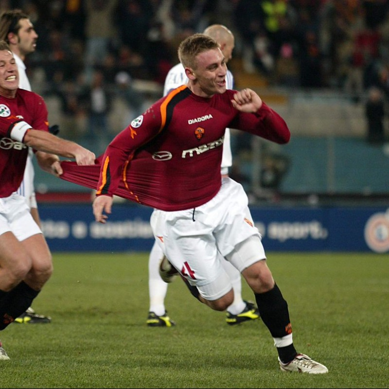 De Rossi's Official Roma Signed Shirt, 2004/05
