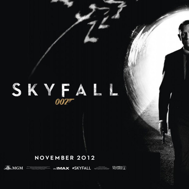 Production Used Storyboards from the James Bond Film Skyfall
