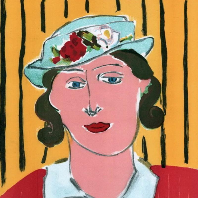 """Femme au chapeau"" by Henri Matisse"