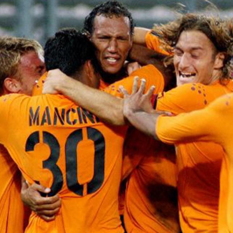 Maglia De Rossi preparata Juventus-Roma 2003