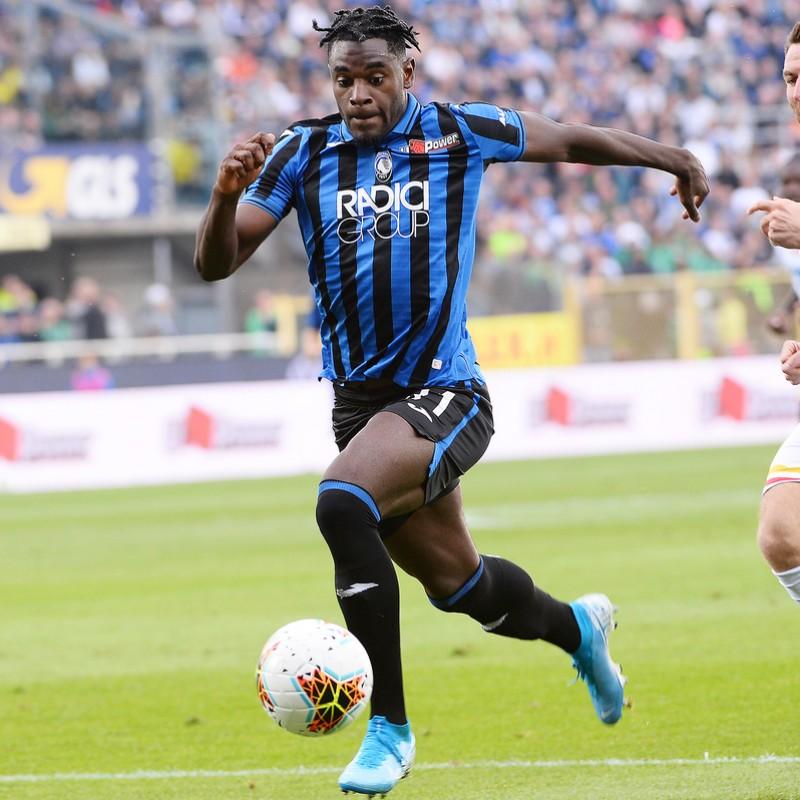 Zapata's Official Atalanta Signed Shirt, 2019/20