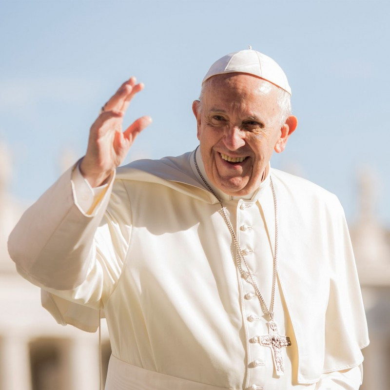 Win an Athletica Vaticana Shirt Hand Signed by Pope Francis
