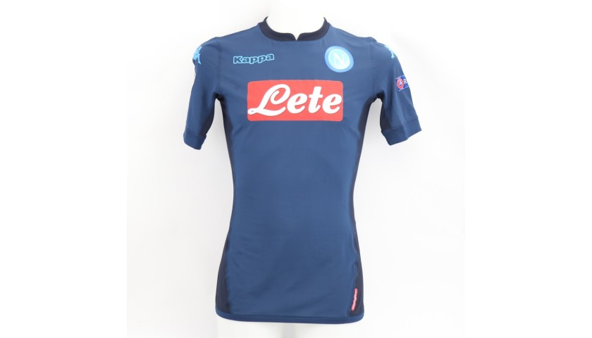 Mertens' Match Shirt, Manchester City-Napoli 2017