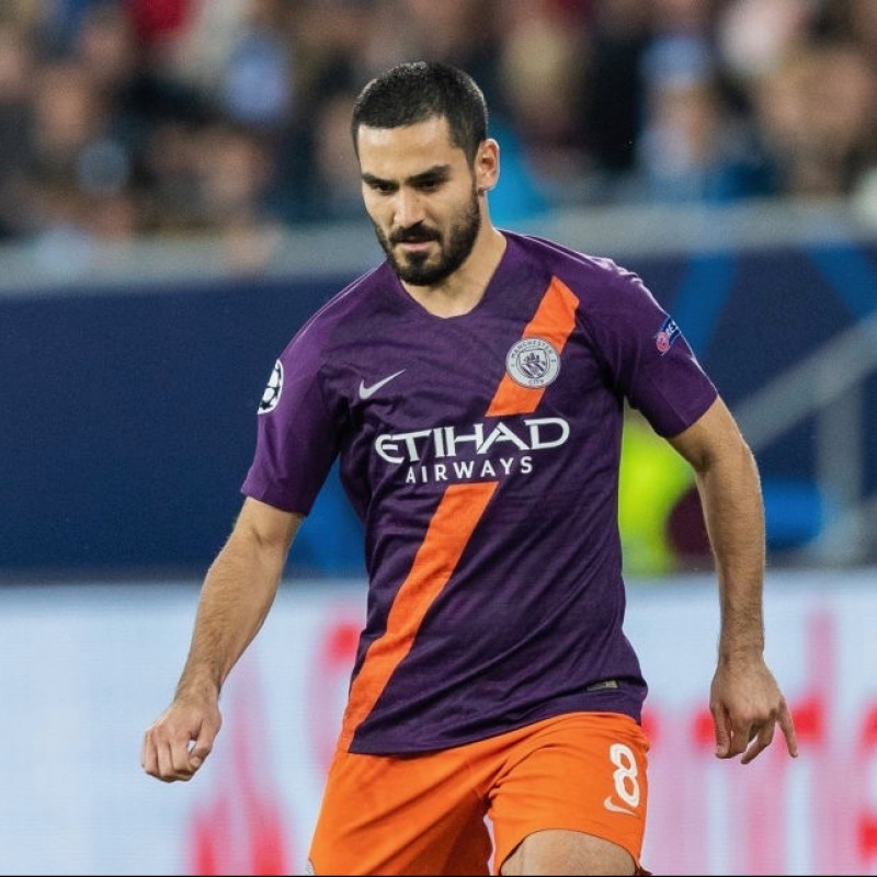 Gundogan's Manchester City Match Shorts, Champions League 2018/19