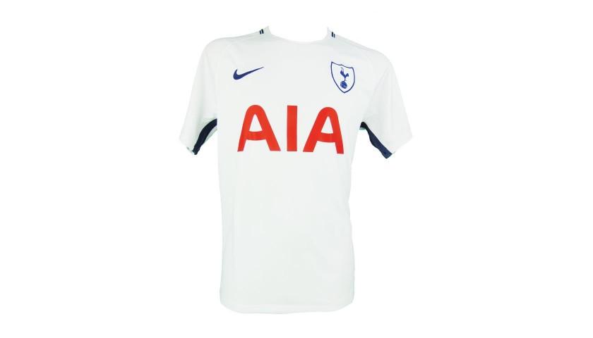 Signed Tottenham Hotspur 2017/18 Harry Kane Shirt