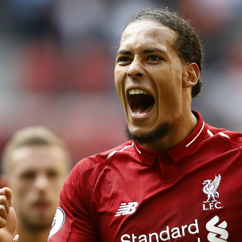 Virgil van Dijk Signed Liverpool FC 18/19 Home Shirt