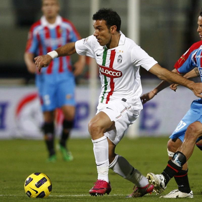 Quagliarella's Juventus Match Shorts, 2010/11