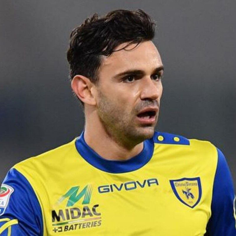 Radovanovic's Chievo Worn Shirt, 2016/17