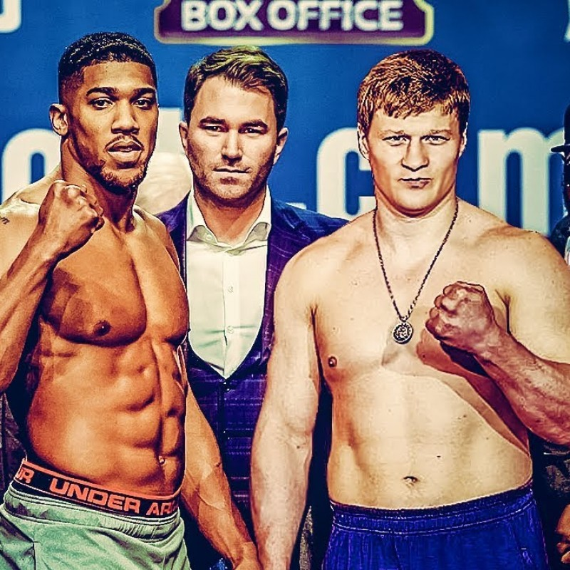 Two VIP Tickets to the Joshua vs Povetkin Match in London with Hospitality