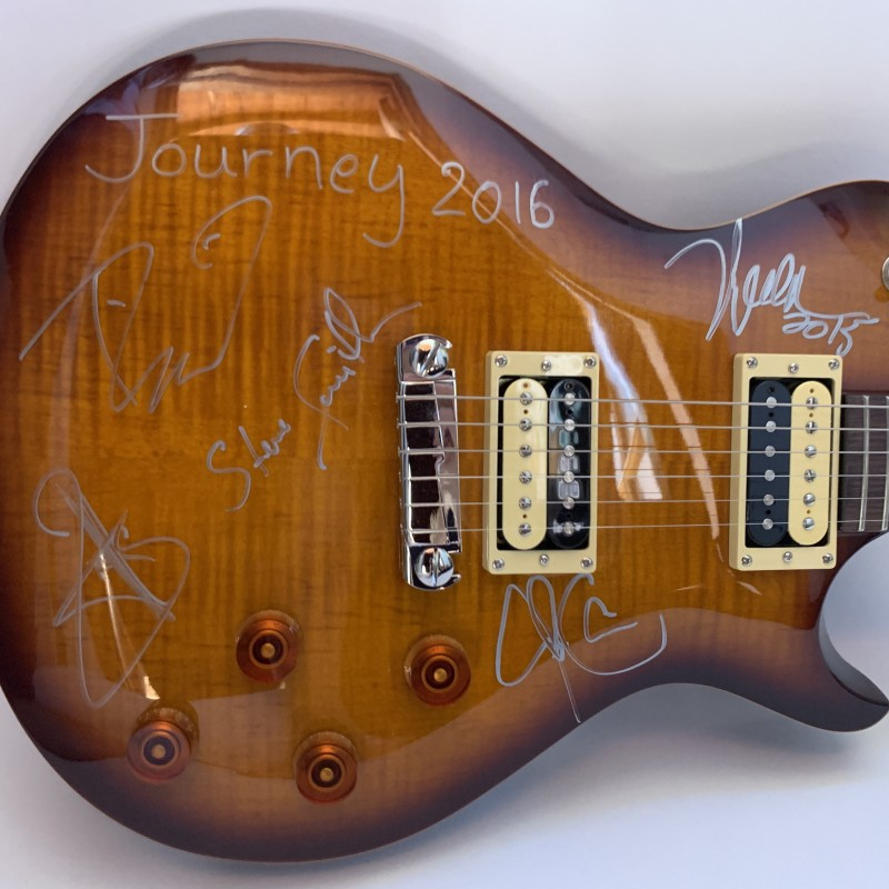 Guitar Autographed by Journey