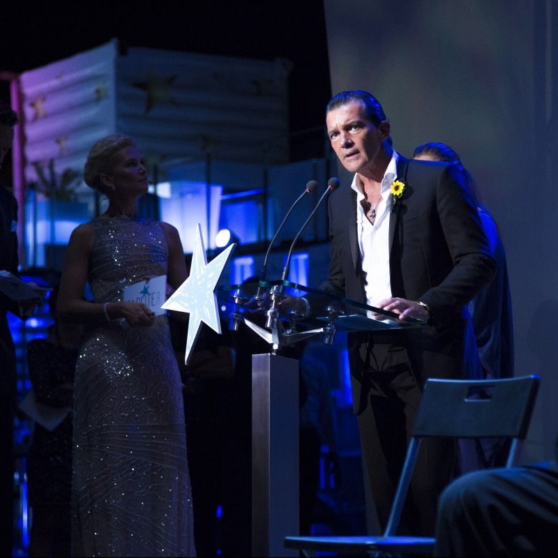 Meet & Greet with Antonio Banderas at the Starlite Gala + Corporate Table