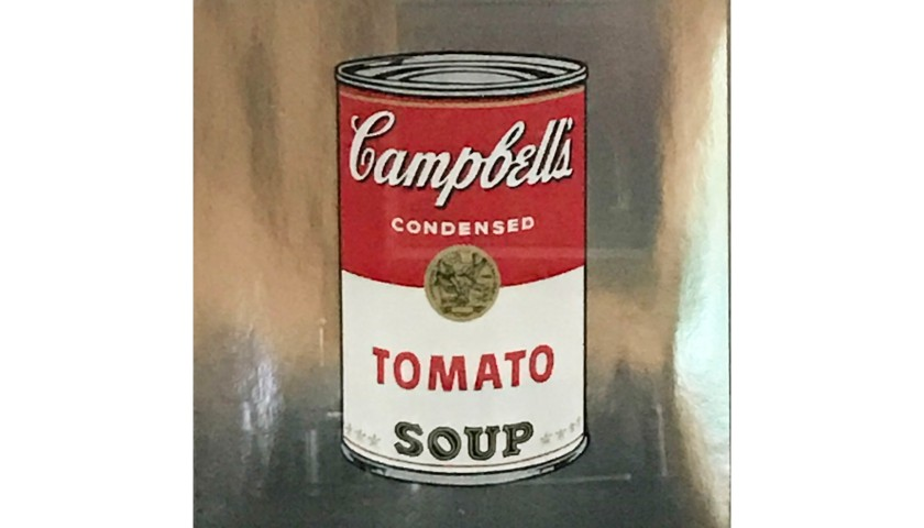 """""""Campbell Soup"""" by Andy Warhol"""