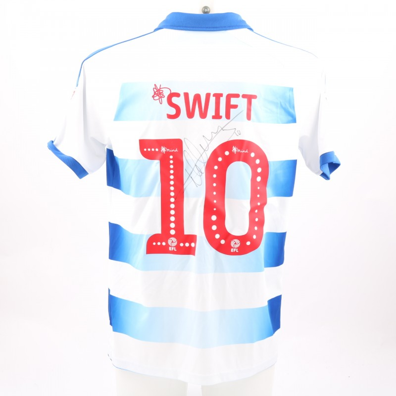 Swift's Match-Worn Reading FC Signed Poppy Home Shirt