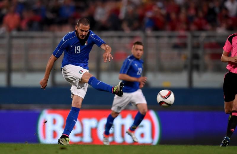 Bonucci Italy Signed Shorts, 2016
