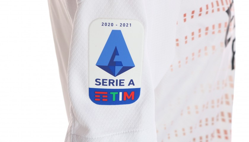 Calabria's Worn and Signed Shirt, Cagliari-Milan 2021