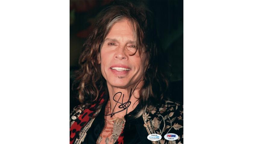 Steven Tyler Hand Signed Photograph