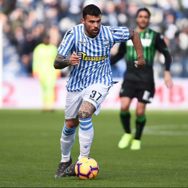 Petagna's Official SPAL Kit, 2018/19 - Signed