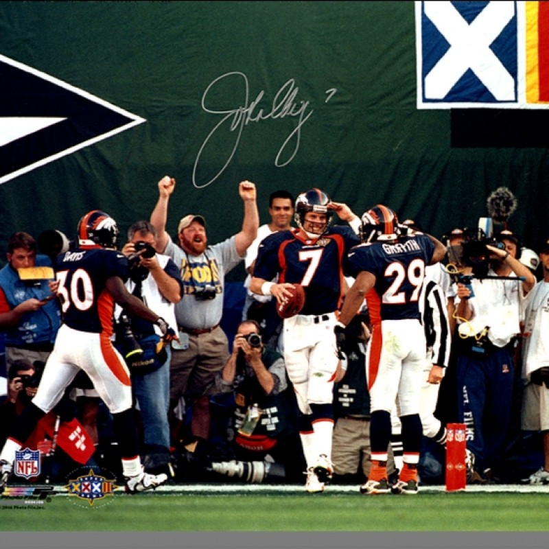 John Elway – Denver Broncos Photo Salute