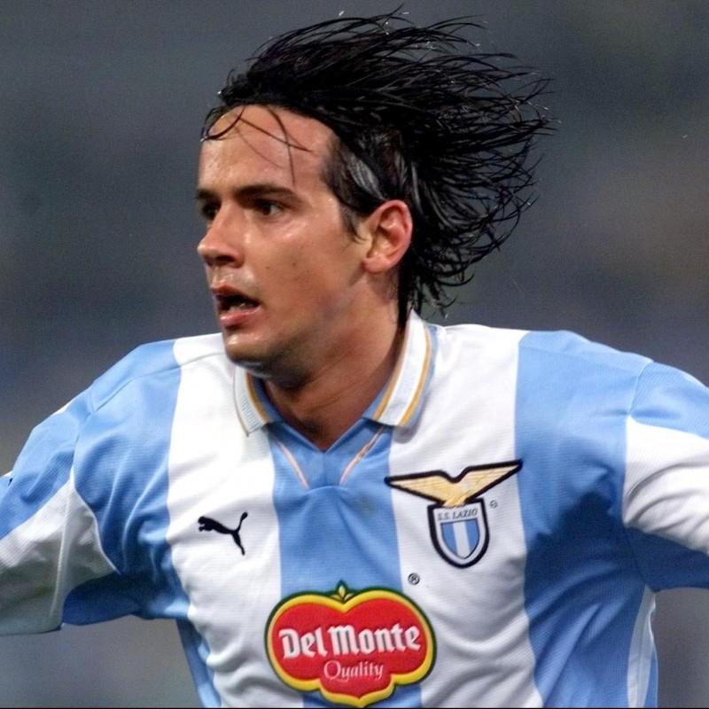 Lazio Training Shirt, 1999 - Signed by Simone Inzaghi