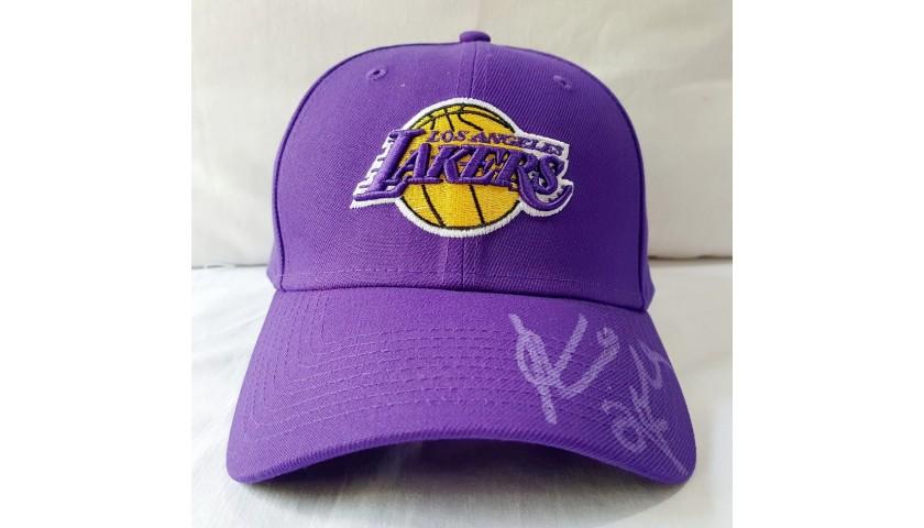 New Era Lakers Cap - Signed by Kobe Bryant