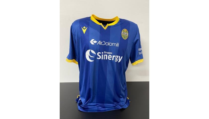 Miguel Veloso's Verona-Lazio Match Shirt, 2020