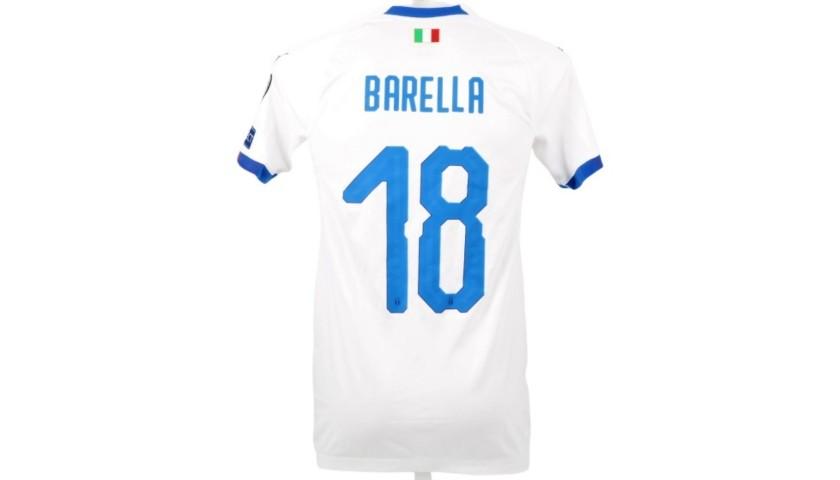 Barella's Match Shirt, Greece-Italy 2019