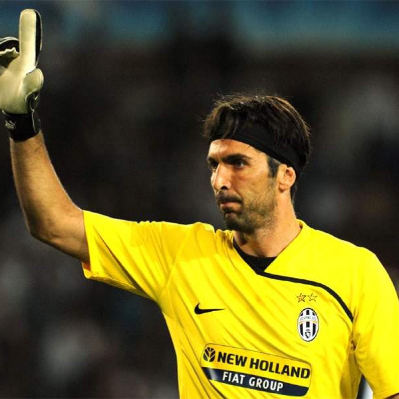 Maglia Ufficiale Buffon Juventus, 2008/09 - Autografata