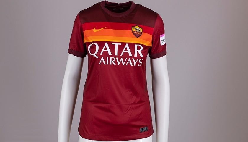 Serturini's AS Roma Signed Shirt - Special Komen Italia