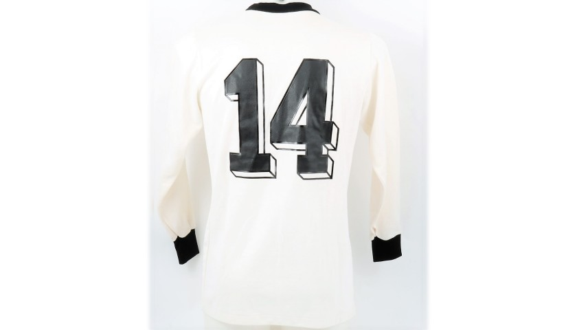 Worn Football Shirt, Finland-West Germany 1977