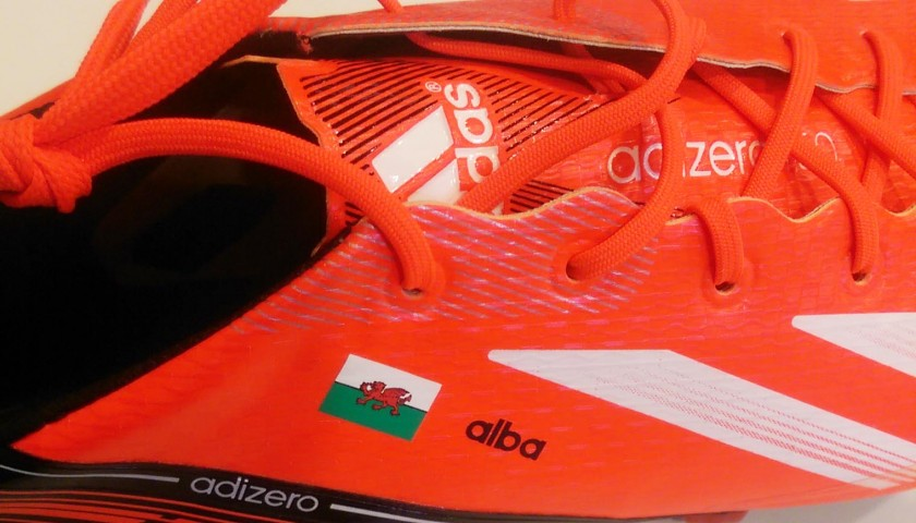 Adidas Football Boot Personalised for Gareth Bale - Signed ... 26917d8cb7f