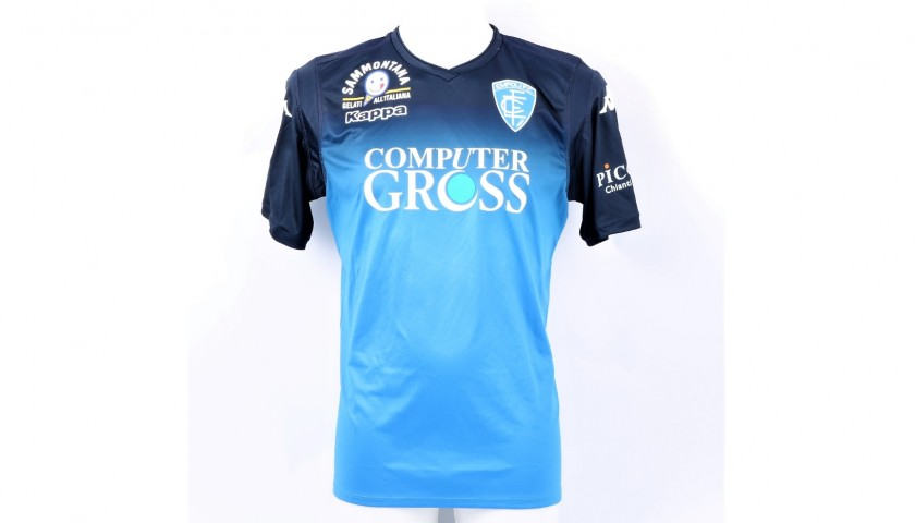 Pasqual's Official Empoli Shirt, 2018/19 - Signed