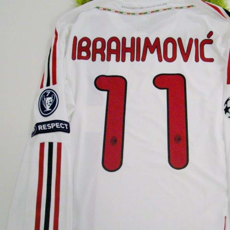 buy online aaf67 ba554 Zlatan Ibrahimovic issued shirt, Milan, Champions League 2011/2012