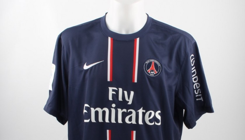 outlet store 00751 3ac6a Official Ibrahimovic PSG shirt, Ligue 1 12/13 - signed - CharityStars