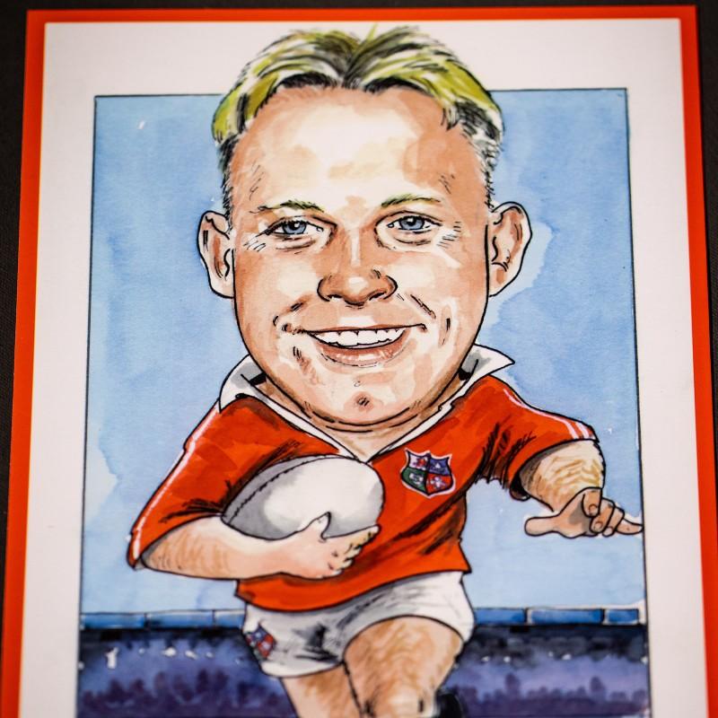 Barry Williams Caricature