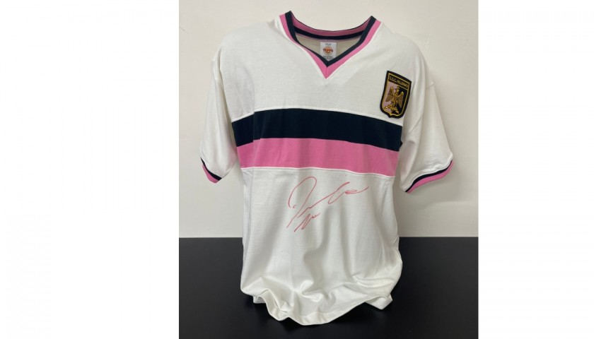 Palermo Retro Shirt - Signed by Dybala