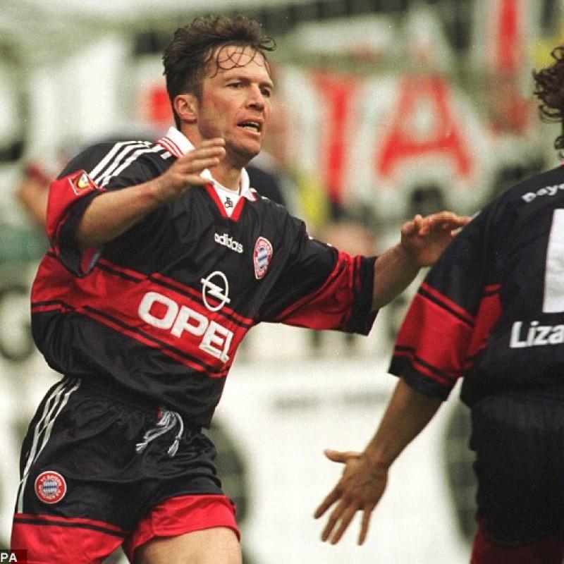 Matthaus's Match-Issued/Worn Bayern Munich Shirt, Bundesliga 1998/99