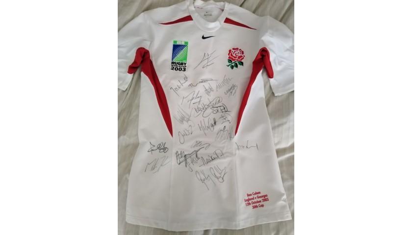 Ben Cohen 2003 RWC Squad Signed Match Shirt