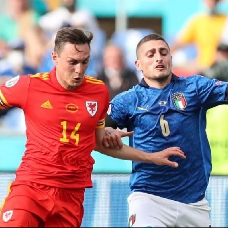 Roberts' Match Shirt, Italy-Wales 2021