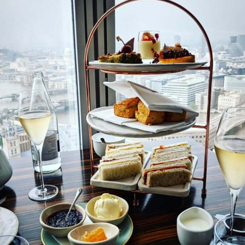 41 - Afternoon Tea For Four at Oblix