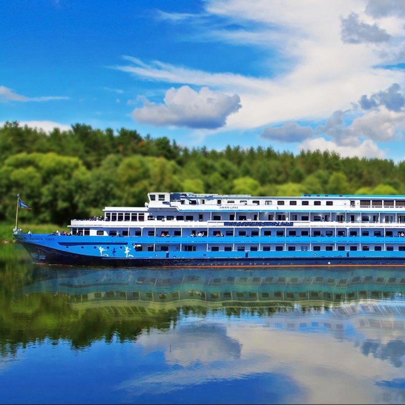 Enjoy a Cruise for 2 on the Volga aboard the MS Crucelake