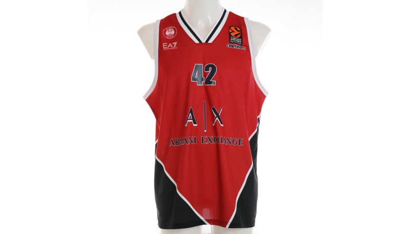 Hines' Official Olimpia Milano Signed Jersey