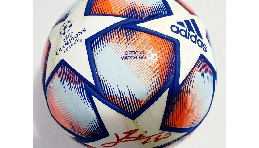 Match-Ball Juventus-Barcelona 2020 - Signed by Messi
