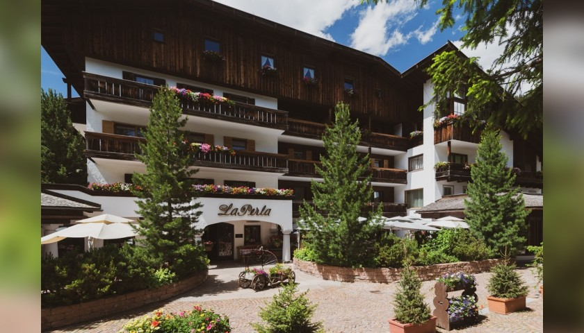 Two-Night Stay for Two at Hotel La Perla in Corvara