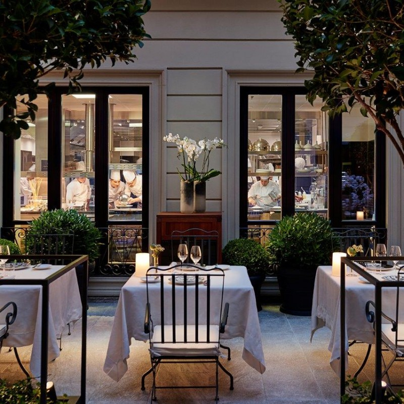 Enjoy Lunch for Two at the Michelin-starred Mandarin Hotel, Milan
