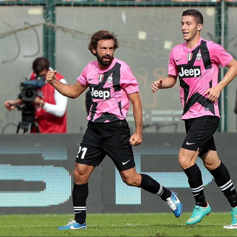Pirlo's Match-Issued Shirt, Siena-Juventus 2012