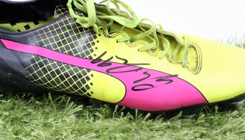Donnarumma's Match-Worn and Signed Cleats, Serie A 2016/17