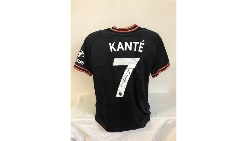 Kante's Official Chelsea Signed Shirt, 2019/20